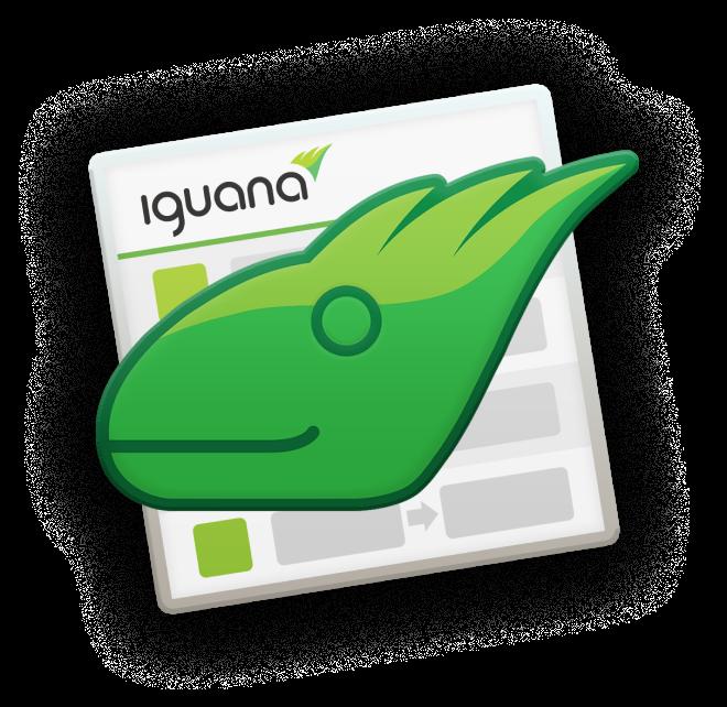 Iguana-Icon