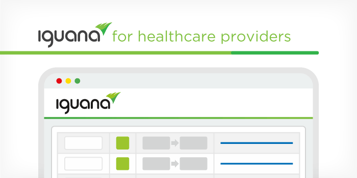 Iguana is the most complete integration solution for hospitals and clinics of all sizes and specialties