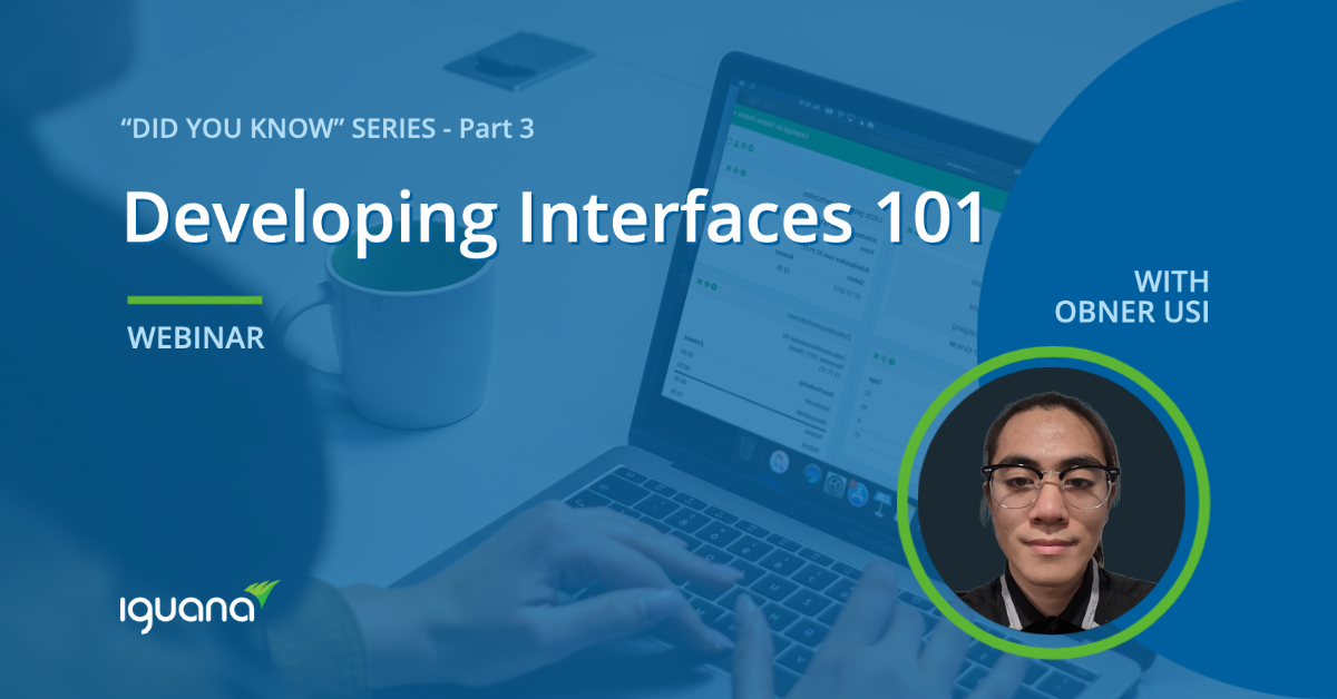 Webinar - Developing Interfaces 101